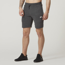 Tru-Fit Zip Sweatshorts - Charcoal - S - Charcoal