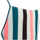 Solid & Striped Women's The Chelsea Swimsuit - Black Jade/Coral Stripe