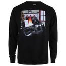 Star Wars Men's Vader Piano Crew Sweatshirt - Black