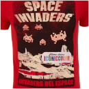 Atari Men's Space Invaders Del EAtari Space T-Shirt - Red