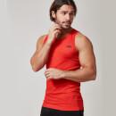 Myprotein 男士无缝运动背心 – 红色