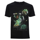 Star Wars Rogue One Men's Rainbow Effect K - 2SO T-Shirt - Black