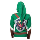 Zelda Women's Link Cosplay Hoody - Green