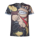 Donkey Kong All Over Print T-Shirt - Multi