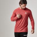 Myprotein 运动表现系列男士长袖运动上衣 – 红色