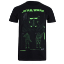 Star Wars Rogue One Men's Death Trooper Schematic T-Shirt - Black