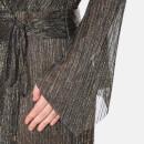 72b4c2c9 Bec & Bridge Women's Glitter Rain Long Sleeve Dress - Gold/Silver Black