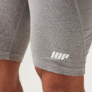 Charge Compression Shorts - S - Grey Marl