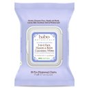 Babo Botanicals 3-in-1 Calming Face, Hand, Body Wipes - Lavender & Meadowsweet