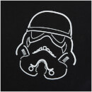 Stormtrooper Men's Helmet Outline T-Shirt - Black