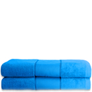 Restmor 100% Cotton 2 Pack Bath Sheets - Teal