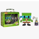 Funko Spongebob Leonardo And Plankton Shredder Pop! Vinyl
