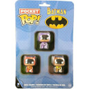 Funko Batman - Brown, Purple & Orange Pocket Pop! Pop! Vinyl