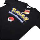 "Camiseta Pokémon ""Logo Gotta catch 'em all"" - Hombre - Negro"