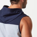 Sweat à capuche sans manches Superlite - XXL - Navy