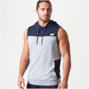 Superlite Sleeveless Hoodie - XXL - Navy