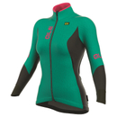 Alé Women's Winter Jacket - Green/Pink