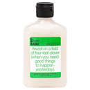Not Soap Radio Awash in a field of four-leaf clover (when you need good things to happen- yesterday) Exfoliating Body Wash 397ml