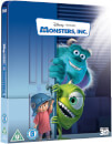 Monsters, Inc. 3D (Inklusive 2D Version) - Zavvi UK Exklusives Lentikular Edition Steelbook Blu-ray