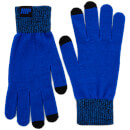 Knitted Gloves – Blue