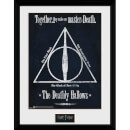 "Harry Potter Deathly Hallows Framed Photographic - 16"""" x 12"""