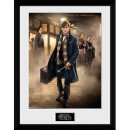 """Fantastic Beasts Group Stand Framed Album Cover - 12"""""""" x 12"""""""