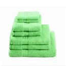 Restmor 100% Egyptian Cotton 7 Piece Supreme Towel Bale Set (500gsm) - Lime
