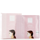 Dermovia LACE YOUR FACE Compression Facial Treatment Mask - Hydrating Rose Water (4 Pack)