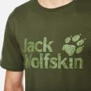 40820b267e8 Jack Wolfskin Men's Pride Function 65 T-Shirt - Burnt Olive Clothing ...