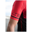 eec03471e Santini Tour Down Under McLaren Vale Short Sleeve Jersey 2017 - Red ...