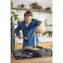 Jamie Oliver by Tefal Hard Anodised Non-Stick Frying Pan - 24cm