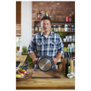 Jamie Oliver by Tefal Hard Anodised Non-Stick Stewpot with Lid