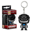 Power Rangers Movie Black Ranger Pocket Pop! Key Chain