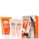 Origins Easy Glow Skincare Set (Free Gift) (Worth £22.60)