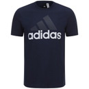 adidas Men's Essential Big Logo T-Shirt - Navy