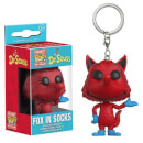 Dr. Seuss Fox In Socks Pocket Pop! Key Chain