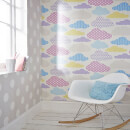 Superfresco Easy Kids' Marshmallow Pastel Clouds Wallpaper