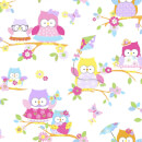 Superfresco Easy Kids' Olive The Owl Vintage Look Wallpaper