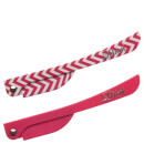 Lilibeth of New York Brow Shaper - Pink Chevron/Pink Solid (Set of 2)