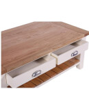 Vancouver Expressions Linen Rectangular Coffee Table