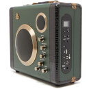 GPO Retro Manga Bluetooth Speaker and Guitar Amp - Green/Black