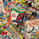Marvel Comic Cover Story Retro Wallpaper