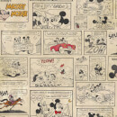 Disney Vintage Retro Mickey and Minnies Night Out Wallpaper