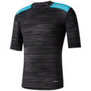 adidas Men's TechFit Base GFX Compression T-Shirt - Black