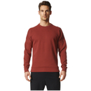 adidas Men's ZNE Crew Sweatshirt - Mystery Red