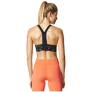 adidas Women's Climachill Marble High Support Sports Bra - Black