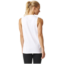 adidas Women's Logo Training Tank Top - White