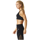 adidas Women's Climachill High Support Sports Bra - Black