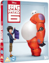 Big Hero 6 3D (Includes 2D Version) Zavvi UK Exclusive Lenticular Edition Steelbook