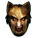 Werewolf Face Mask